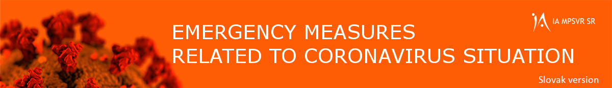 Emergency measures related to coronavirus situation